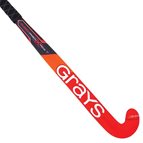 GRAYS KN12000 Probow Xtreme Micro Composite Hockey Stick Free Grip & Carrying Bag (37.5