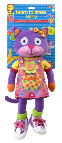 ALEX Toys Little Hands Learn To Dress Kitty Little Kitty