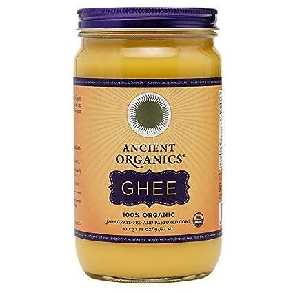 Ancient Organics 100% orgánico Ghee de vacas alimentadas con ...