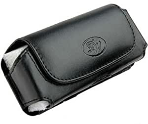 Leather Sideways Belt Clip Case Pouch Cover for Apple Apple iPhone 5s NEW!