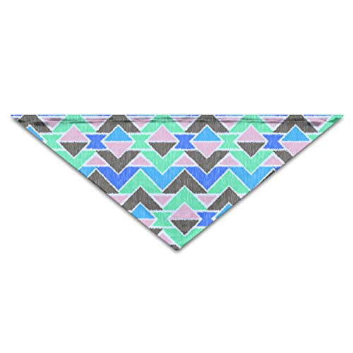 OLOSARO Dog Bandana Sequoyah Arrows Ikatc Green Triangle Bibs Scarf Accessories for Dogs Cats Pets -