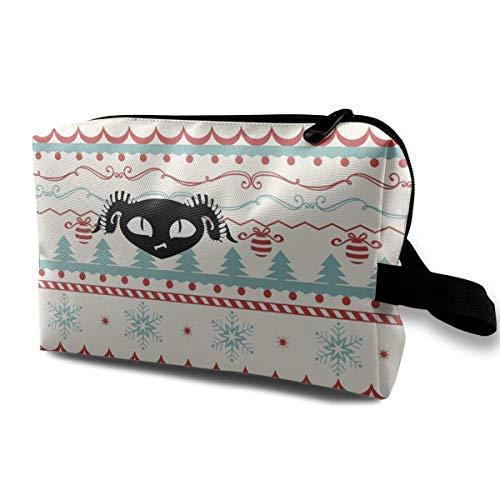 JENNASTOLZZ Unisex Puscifer Daily Music Band Travel Cosmetic Storage Assorted Bag Gift
