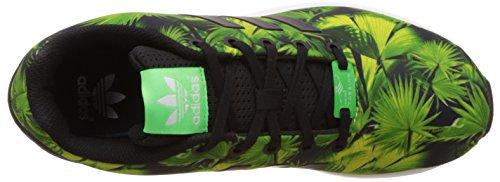 Deporte Zx negro Zapatillas Flux Adidas Niños De Verde Unisex wIF6xdqn4