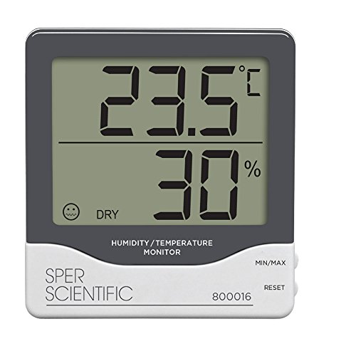 Sper Scientific 800016 Humidity/Temperature Monitor by Sper Scientific