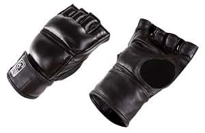GoFit Weighted Training Gloves, Black Vinyl, Small/Medium