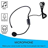 Professional First Vocal Wired Headset Microphone microfono For Voice Amplifier Speaker with 3.5mm Jack