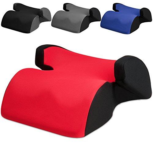 Kindersitz Autokindersitz Techno Grau Kindersitzerhöhung 15-36kg ECE 44/04 Sitz (für Kinder ab 3 bis 12 Jahren)