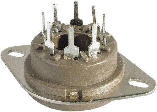 Belton Vacuum Tube Socket (VT8-PTS) 8 Pin/Octal, Micalex, PC Mount