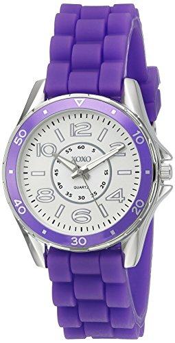 (XOXO Women's Quartz Purple Casual Watch (Model:)