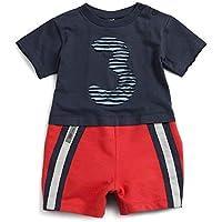 Macacão Ponto de Vista Azul Escuro - Bebê Menino 3-6M