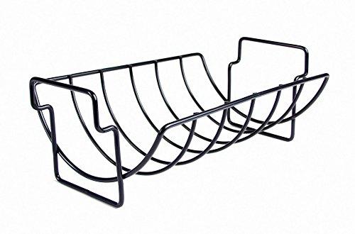 Large Rib Rack - Charcoal Companion Non-Stick Reversible Roasting / Rib Rack - CC3001
