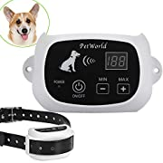 #AmazonGiveaways Wireless Dog Fence System Outdoor Invisible Pet Containment System Rechargeable Waterproof Collar(1 Dog System)
