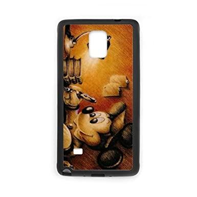 the best attitude 435a3 ce725 Samsung Galaxy Note 4 Cell Phone Case Black Disney Mickey Mouse ...