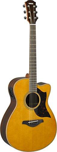 Acoustic Electric Guitar Natural Satin - Yamaha A-Series AC1R Acoustic-Electric Guitar, Vintage Natural