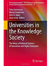 Universities in the Knowledge Society: The Nexus of National Systems of Innovation and Higher Education