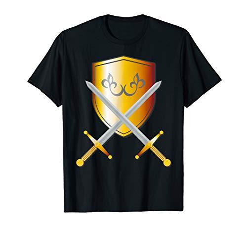 Cute Unique Medieval Halloween Knight Armor Shirt Gift Sword T-Shirt