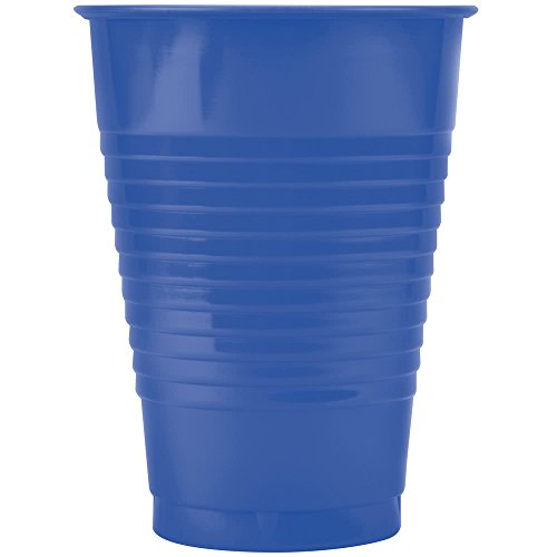 28102171 12 oz. School Bus Yellow Plastic Cup - 240/Case By TableTop King