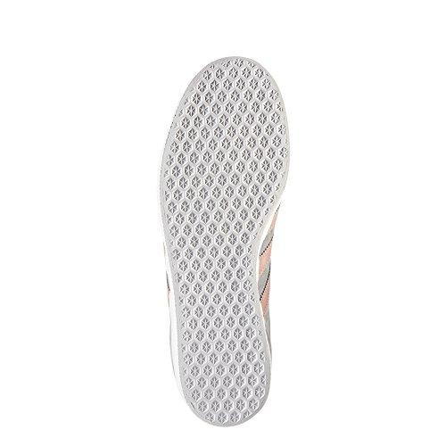 adidas Originals adidas Originals Women's Gazelle W Sneaker, GreyRaw PinkWhite, 5 M US from Amazon   ShapeShop