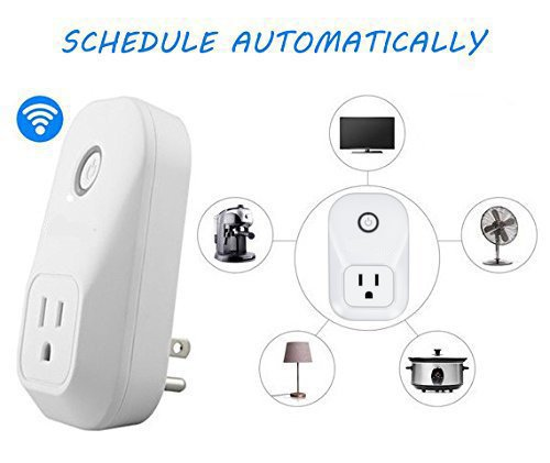 Alexa Smart Plug Wi-Fi Kaito No Hub Required Wireless Timing Smart Socket Remote Control your Devices for Smart Home Compatible with Alexa Echo Dot, Echo Tape and Amazon Echo, KA402 by Kaito (Image #7)