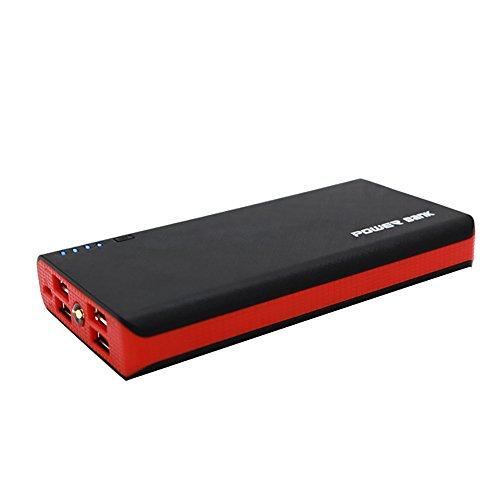 cooljun Poular para teléfono nueva duradera carcasa de 2.1A 4usb banco de la energía 6x 18650cargador de batería DIY caja funda Kit Red