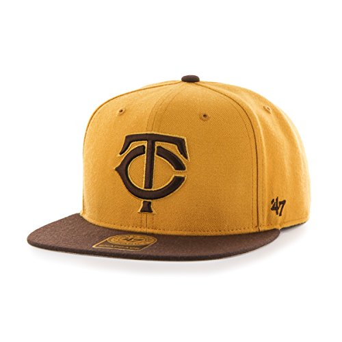 MLB Minnesota Twins No Shot Two Tone '47 Captain Snapback Ad