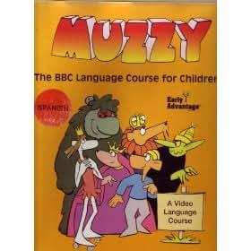 BBC Muzzy Spanish Early Advantage Set Language Course for Children