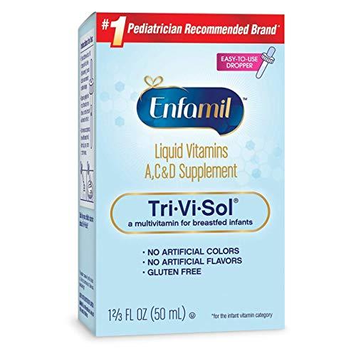 Enfamil Tri-Vi-Sol Supplement Drops, Vitamins A,D and C for Infants 1.66 fl oz (50 ml)
