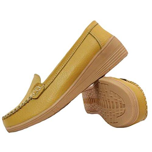 Vogstyle Sneaker 4 Damen Tops Style Low Yellow qgCqrv