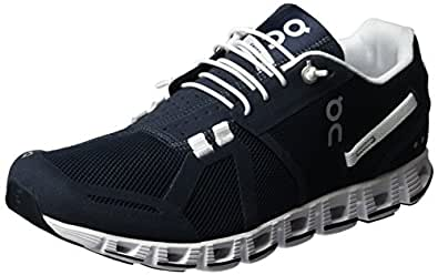 On Men's Cloud Running Shoes, Navy/White, 8 US