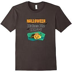 Cool Happy Halloween T-Shirt Costume Pumpkin Bats Spider