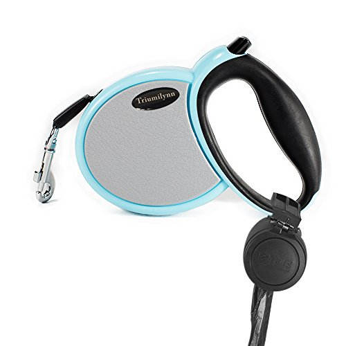 Triumilynn Retractable Dog Leash 10ft, No Tangle and Durable