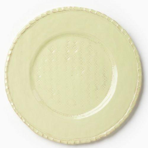 - Vietri Bellezza Celadon Serving Plate/Charger