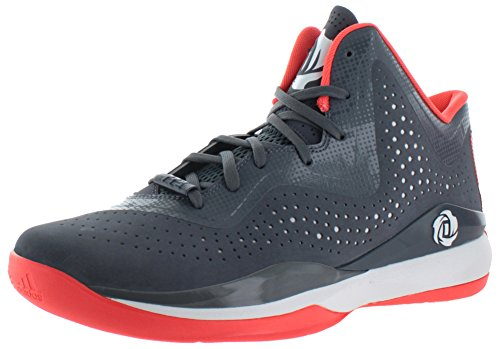 Adidas Mens D Rose 773 Iii Onix / Infrarosso / Bianco