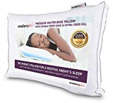 Luxurious Queen Size Water Pillow (20x28), Hotel Collection with Extra Supportive Fiber Fill Adjustable Orthopedic Support and Hypoallergenic Waterbase Pillow by Modern Joe's