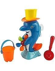 Dpatleten Dolfijn Bad Speelgoed Pasgeboren Waterrad Zwemmen Water Speelgoed Voor Kinderen Bathtime Fun Dolfijn 32 * 16 cm