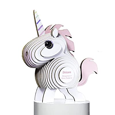 Dodoland — Eugy Unicorn 3D Puzzle — Educational Kid Toys for Boys and Girls, 28 PIece Puzzle Great for Gifts, Home and School — 61126: Toys & Games