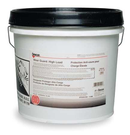 Wear Guard Epoxy Adhesive, Pail, 30 lb, Gray, 8 hr.
