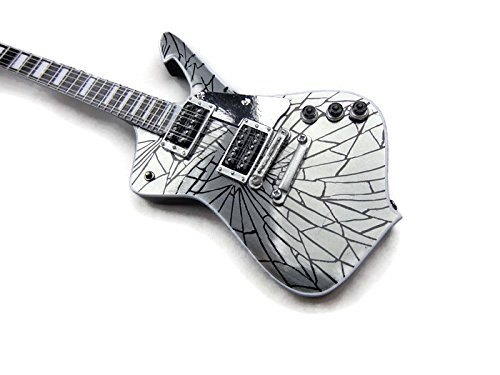 AXE HEAVEN Kiss-2 Cracked Ice Guitar 2M K01 - Kiss Statuette