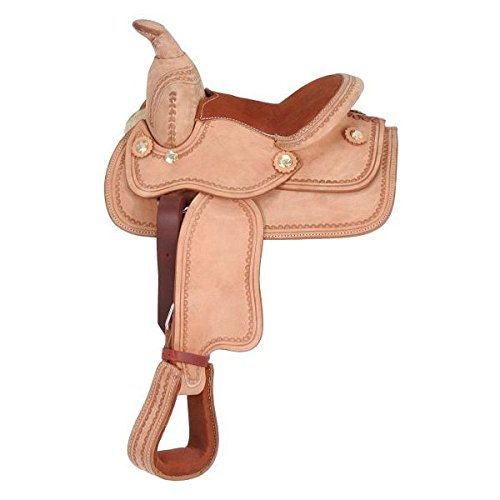 King Series Mini Deluxe Western Saddle