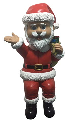 (Santa Claus Limited Edition Bobblehead - Sits on Any Flat Surface Including a Desk, Table or Shelf! - Also Available is Elf and Mrs. Claus)