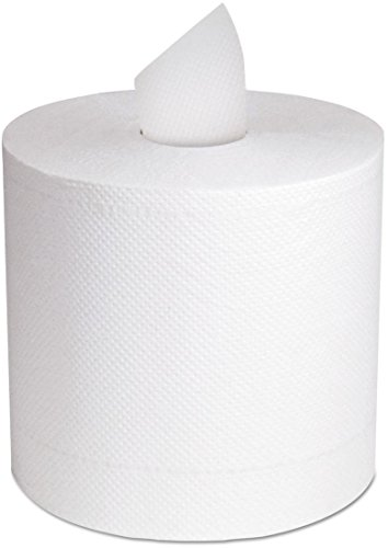 - North River Center-Pull Towel, 2-Ply, White, 11 x 7 5/16, 600/Roll, 6