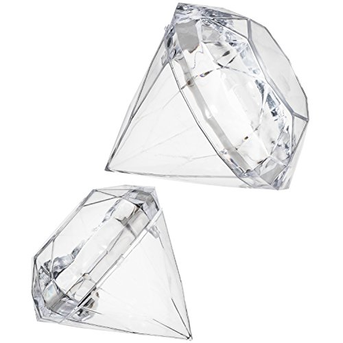 Diamond Craft Mold Set Soap Making Supplies Set of 2 Shapes Sizes Small and Large Mold To Make at Home | Easy to Make Your Own Assorted Lush Fizzies, Candy, Crafts