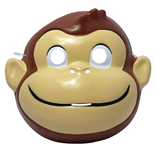 [Curious George Mask Costume Mask] (Costumes Curious George)