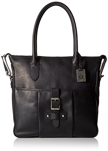 FRYE Parker Tote Shoulder Bag, Black, One Size by FRYE
