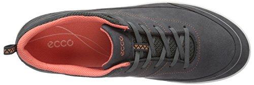 ECCO Arizona Dark Shadow/Coral Yabuck/Deco - Zapatillas de running Mujer Negro (DARK SHADOW/CORAL58925)