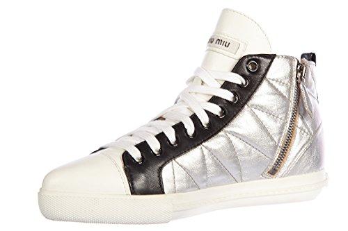 Miu Donna Pt731 Chaussures Pt731 Miu Chaussures Donna Argent Argent B0qA7Y