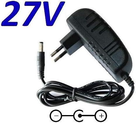 CARGADOR ESP ® Cargador Corriente 27V Reemplazo Taurus YLS0241A-E270080 Recambio Replacement
