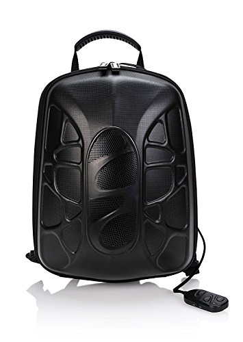 Outdoor Cycling Bluetooth Mp3 Speaker Backpack Bag Stereo Music Amplifier Black