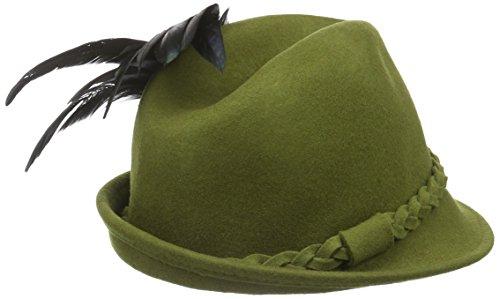 Clara Filz Alpenflüstern Vert Trachtenhüte grün amp; trachtenhut Femme Trachtenfeder Mit Hutbroschen wfEFqE1UHn