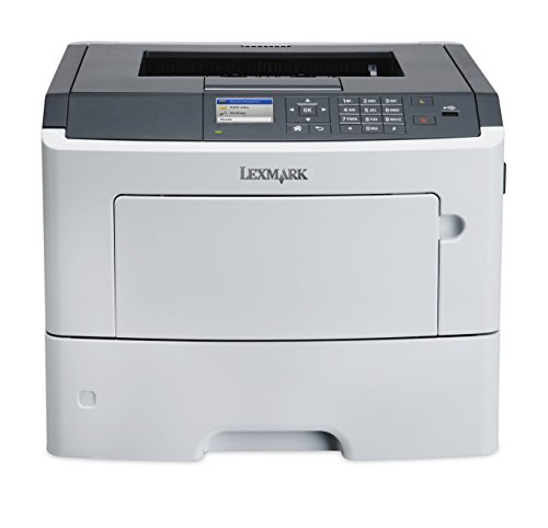 Lexmark MS617dn Compact Laser Printer, Monochrome, Networking, Duplex Printing (Lexmark Ink Cartridge 50 Black)